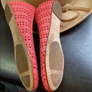 Eileen Fisher Shoes - Eileen Fisher Woven Peony Leather Flats